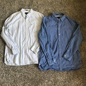 Men's - AEO Athletic Fit Button Down Shirts